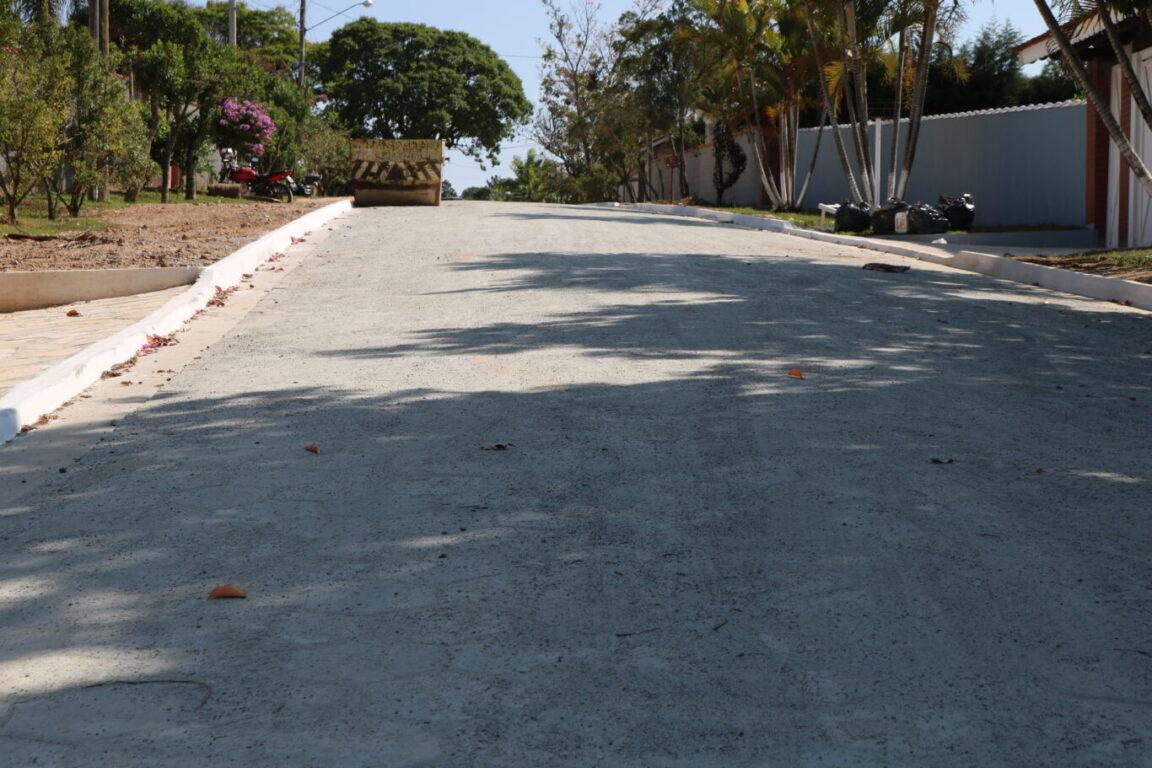 Pavimentação da rua Sergio Cardoso é finalizada